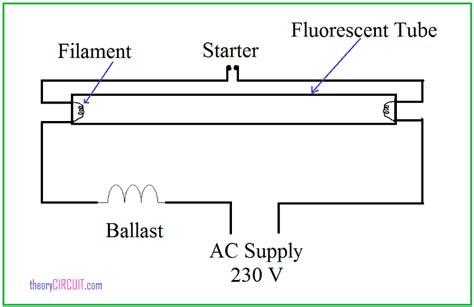 Tube Light Connection Diagram