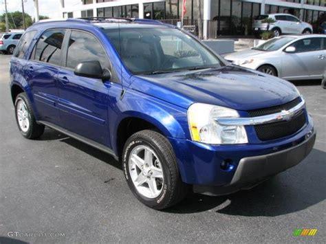 2005 Chevrolet Equinox by 2005 Laser Blue Metallic Chevrolet Equinox Lt 44806220