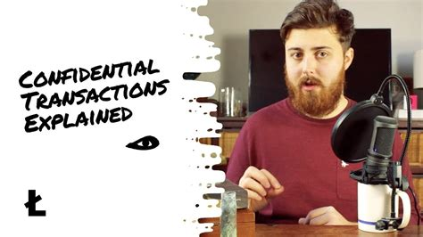 With confidential transactions, privacy is improved by cryptographically masking the amounts associated with bitcoin transactions. Confidential Transactions Explained Bitcoin  - YouTube