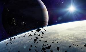 Asteroids Atmosphere Clouds Outer Space Artwork Planets ...