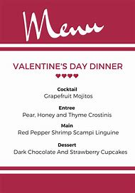 Best Valentine Menu Ideas And Images On Bing Find What You Ll Love
