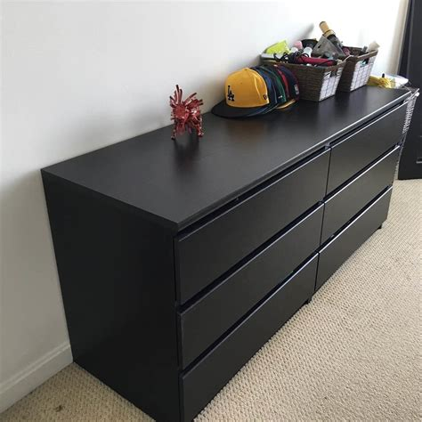 Kullen Dresser 3 Drawer by Ikea Kullen 6 Drawer Dresser For Sale In Cambridge Ma