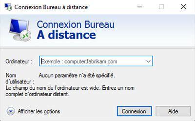windows bureau a distance windows server ou windows connexion bureau à distance