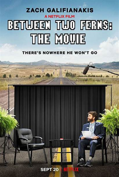 Between Ferns Movie Poster Collider Forgettable Funny