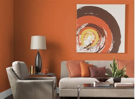 Wohnzimmer Orange Grau by Farben F 252 R Wohnzimmer In Orange 80 Wohnideen