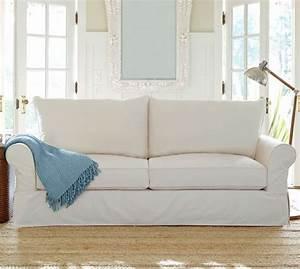 pb comfort roll arm slipcovered sofa pottery barn With pottery barn slipcover sectional sofa