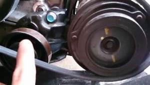 Kia Carnival Sedona    Hyundai 2 9 Crdi Ac Belt Installation