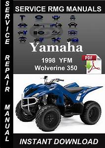 1998 Yamaha Yfm Wolverine 350 Service Repair Manual