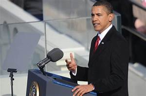 President Barack Obama's first inauguration speech: Full ...