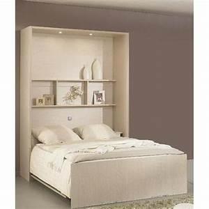 Armoire Pont De Lit : armoire lit simple escamotable 1 personne au meilleur prix ~ Teatrodelosmanantiales.com Idées de Décoration