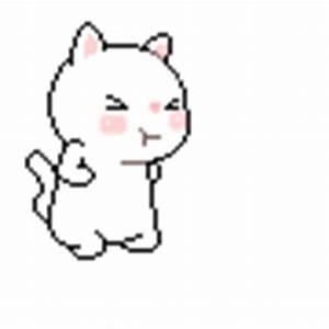 Love, Beauty, and Heels: Cute Cat Cartoon Pixel Pictures!!