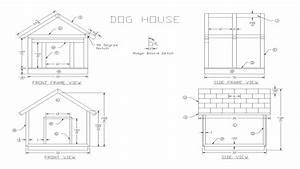 wooden dog house plans freeeasy dogs houses plan wooden With easy dog house plans