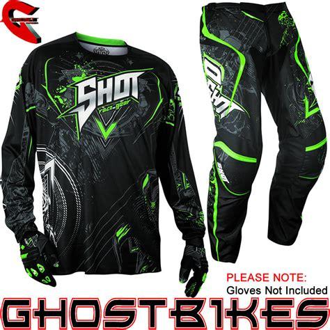 shot motocross gear shot 2013 contact lord jersey pant motocross kit mx