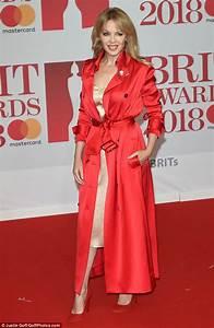 BRIT Awards 2018: Kylie Minogue ravishes in white ruffles ...