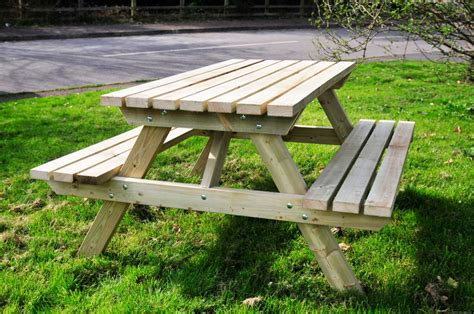 picnic table bench picnic tables the wooden workshop oakford