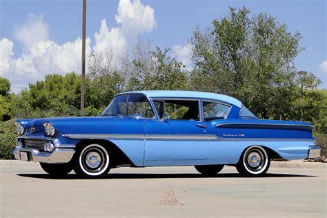 1958 Chevrolet Biscayne 2door Post Sedan 187489