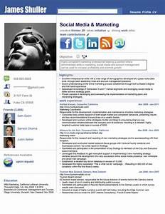 Resume Social Network Adv by rkaponm on DeviantArt