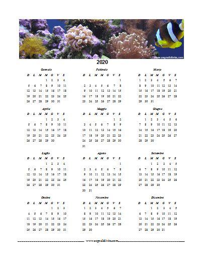 calendario formato word del