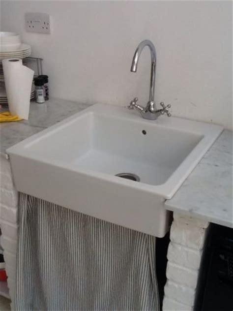 ikea domsjo ceramic white sink  ikea edsvik kitchen