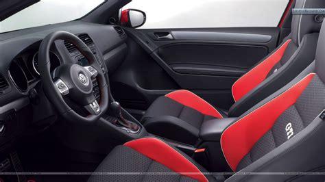 siege golf gti volkswagen gti worthersee 09 concept interior seats and