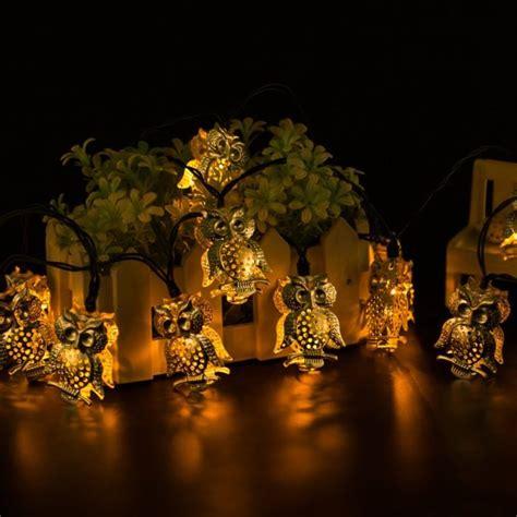 owl string lights unique decorative string light for holidays home designing