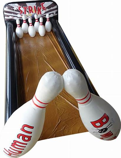 Human Bowling Deluxe Inflatable I2kplay