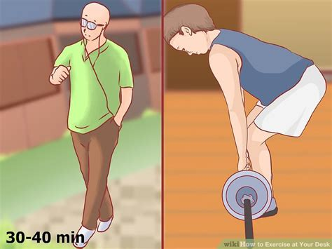 how to exercise at your desk how to exercise at your desk with pictures wikihow