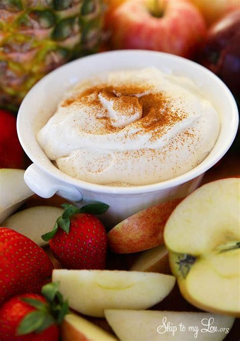 Chill in fridge for at least 30 minutes. Rum Chata Fruit Dip Recipe. This sweet dip is perfect for parties. #recipe #dip skiptomylou.org ...