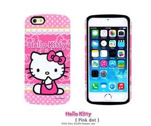 hello kitty iphone hello kitty sweet bumper kawaii for iphone 6