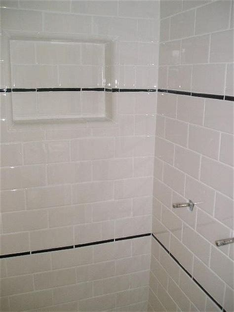subway tile shower stall view ii flickr photo