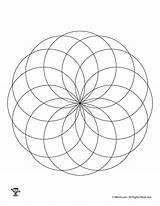 Fibonacci Coloring Pages Spiral Simple Pattern Printable Getcolorings Woo Jr sketch template