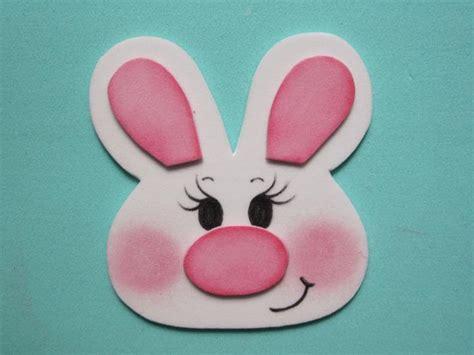 como hacer conejos de foamy porta huevo de pascua paso a paso manualidades en goma