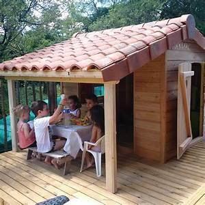 Cabanes Denfants Charente Maisons Bois