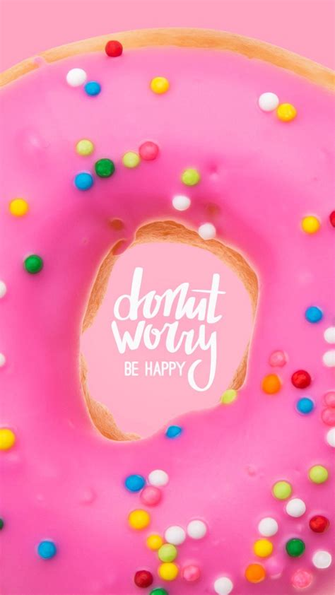 Download and use 10,000+ mobile wallpaper stock photos for free. Cute Doughnut Wallpapers - Top Free Cute Doughnut Backgrounds - WallpaperAccess