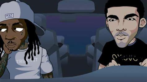 Amber Rose And Wiz Khalifa Cartoon