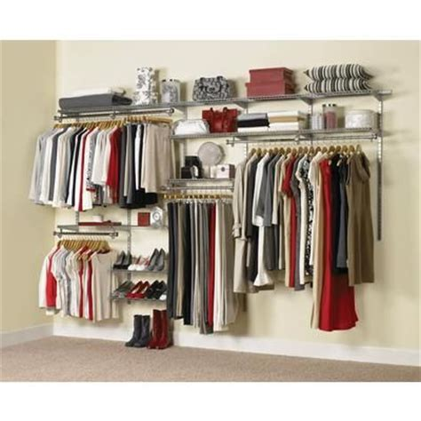 rubbermaid configurations custom closet kit 6ft to 10ft