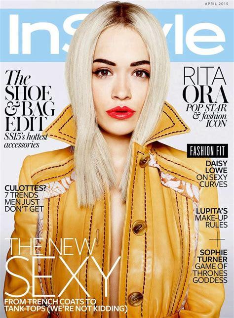 Rita Ora Is InStyle UK's April Cover Star   Rita ora ...