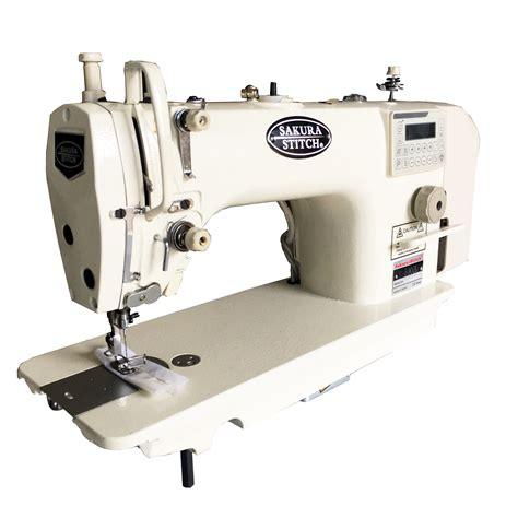 high speed direct drive single needle lockstitch machine  auto thread sakura stitch