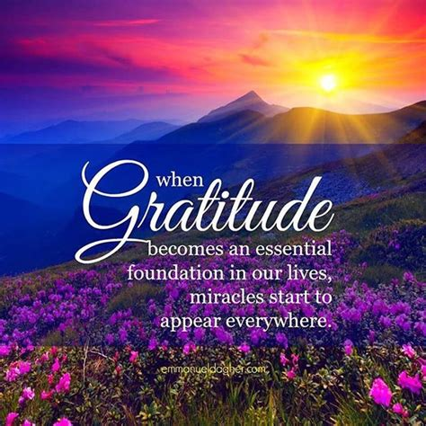 gratitude   essential foundation