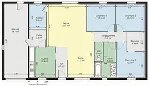 plan maison moderne gratuit pdf With plan de maison 120m2 7 maison cube 100 hci constructions