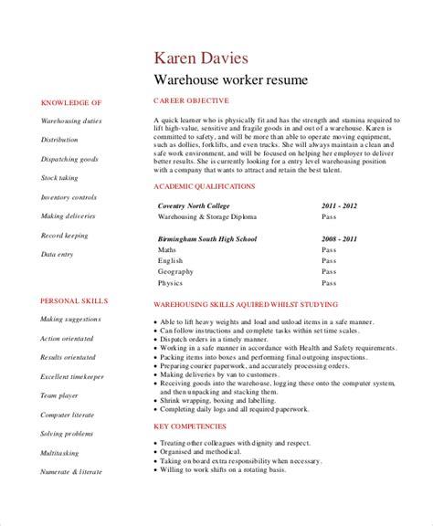 9 entry level resume exles pdf doc free premium