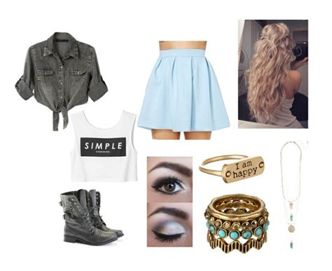 Cute dark edit fashion outfits polyvore summer tumblr - image #1967904 by KSENIA_L on ...