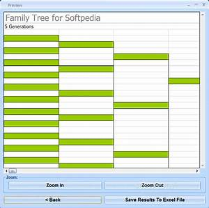 Download Excel Family Tree Chart Template Software 7 0