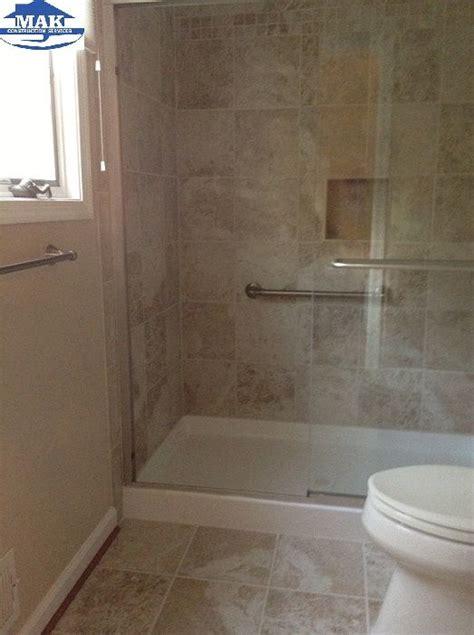 master bath del conca roman stone beige porcelain floor
