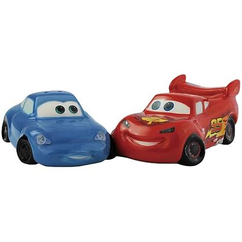 cars sally and lightning mcqueen cars sally and lightning mcqueen salt and pepper shakers