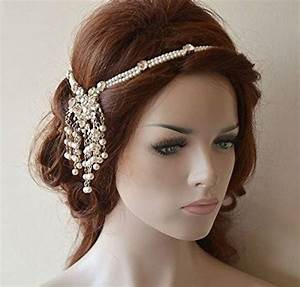 Wedding Head Chain Pearl Hair Jewelry Bridal