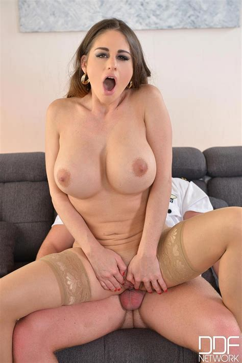 Cathy Heaven Banged By A Pilot