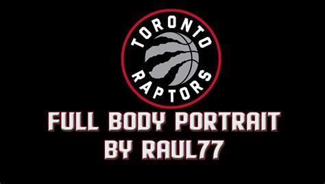 toronto raptors full body portrait   raul