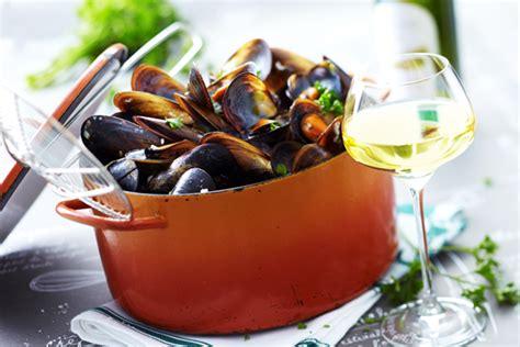 recette de moules marinieres au riesling vins dalsace