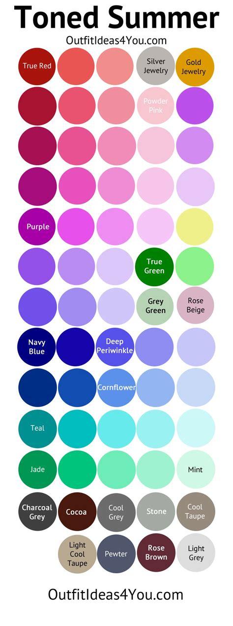 1000+ Ideas About Soft Summer Palette On Pinterest  Soft Summer, Soft Autumn And Cool Summer